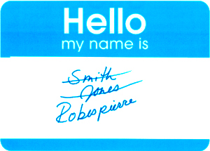 What's in a Character Name? Part II, Last Names | Kristen M  Foster